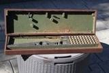 Original Parker Shotgun Walnut Case for Hammer Gun - RARE!