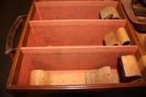 Vintage Leather Shotshell Case - 9 of 10