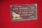 Large Oak & Leather Shell Case by John Dickson & Son - NICE! - 12 of 16
