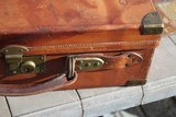 Large Oak & Leather Shell Case by John Dickson & Son - NICE! - 4 of 16