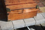 Large Oak & Leather Shell Case by John Dickson & Son - NICE! - 6 of 16