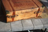 Large Oak & Leather Shell Case by John Dickson & Son - NICE! - 7 of 16