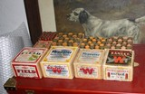 Collection of Shotshell boxes