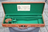 English Leather Double Rifle Case - NICE