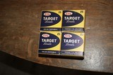 vintage cil 410 #9 skeet loads 4 boxes 100 rounds total