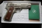 Colt Combat Commander 70 Series Satin Nickel in Box NICE!