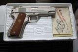 Colt Combat Commander 70 Series Satin Nickel in Box - 1 of 19