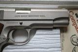 Colt Combat Commander 70 Series Satin Nickel in Box - 4 of 19
