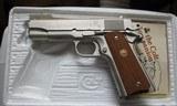 Colt Combat Commander 70 Series Satin Nickel in Box - 9 of 19