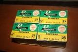 Remington Express 12ga Shotgun Shells 4 Boxes 100 Rounds - 2 of 3