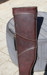 Mulholland Bros Leather Shotgun Case - Nice