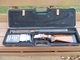 Browning 625 Sporter Left Hand with Complete Sub-Gauge Tube Set