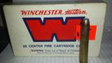 Winchester Western .458 Win Mag box of 19 rounds - 1 of 2