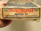 Winchester Model 67 .22 S, L, LR - 10 of 12