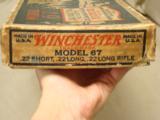 Winchester Model 67 .22 S, L, LR - 11 of 12