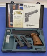 Beretta Model 89 Gold Standard