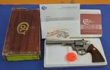 Colt Custom Shop Colt Trooper MK III22 Long Rifle Electroless Nickel