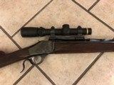 Browning High Wall Rifle cal. 45/70 - 2 of 4