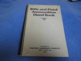 Group Of Three Western Ammunition Handbooks, 1920s and 1930s