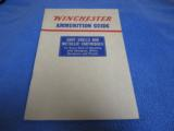 1941 Winchester Ammunition Guide - 1 of 1