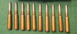 20 rounds of Original WWI6.5x50mm ammunition made by Kynoch