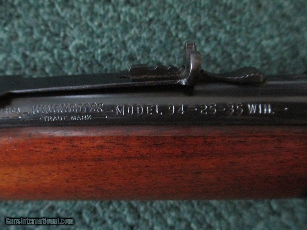 Winchester model 94 25-35 key generator