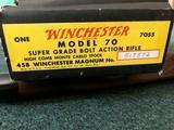 Winchester Model 70 Pre 64 Super Grade458 Win Mag - 25 of 25