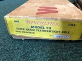 Winchester Model 70 Super Grade Featherweight 30-06 - 4 of 25