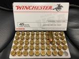 Winchester 45 auto JHP