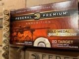 Federal Premium Gold Medal 308