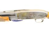 Ultra Rare Winchester Model 12 Stainless Engraved Pigeon Grade - 6 of 11