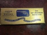 """Smith & Wesson Pre-Model 3.5"""" Barrel Pristine in the Box"""