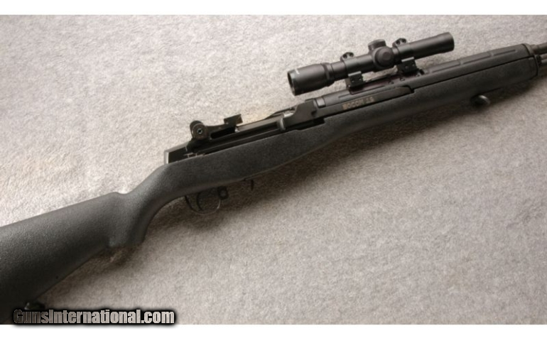 Springfield M1A SOCOM 16  308 Win, 3 Mags with Burris Scout