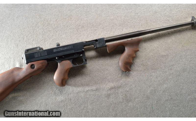 Auto Ordnance ~ 1927A1 Tommy Gun ~  45 ACP ~ ANIB