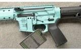 Black Rain Ordnance ~ Fallout CQB ~ 9mm ~ Battle Worn Tiffany Blue ~ NIB - 8 of 10