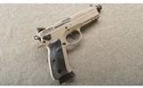 CZ-USA ~ 75 SP-01 Tactical Urban Grey Suppressor-Ready ~ 9MM ~ In Case