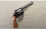 Smith & Wesson ~ Model 17 No Dash ~ .22 Long Rifle.