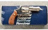 Smith & Wesson ~ Model 10-8 Nickel ~ .38 S&W ~ In Box
