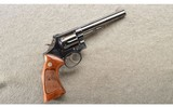 Smith & Wesson ~ Model 14-3 ~ .38 S&W ~ 6 Inch blue