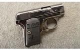 Colt ~ 1908 Vest Pocket Pistol ~ .25 ACP ~ Made in 1913