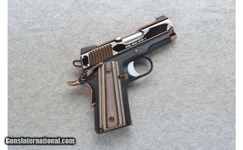 Kimber ~ Rose Gold Ultra II ~  45 ACP for sale