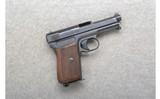 Mauser ~ Semi-Auto ~ 7.65 Cal.