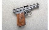 Mauser ~ 1914 Semi-Auto ~ 7.65 Cal. ~ No Magazine