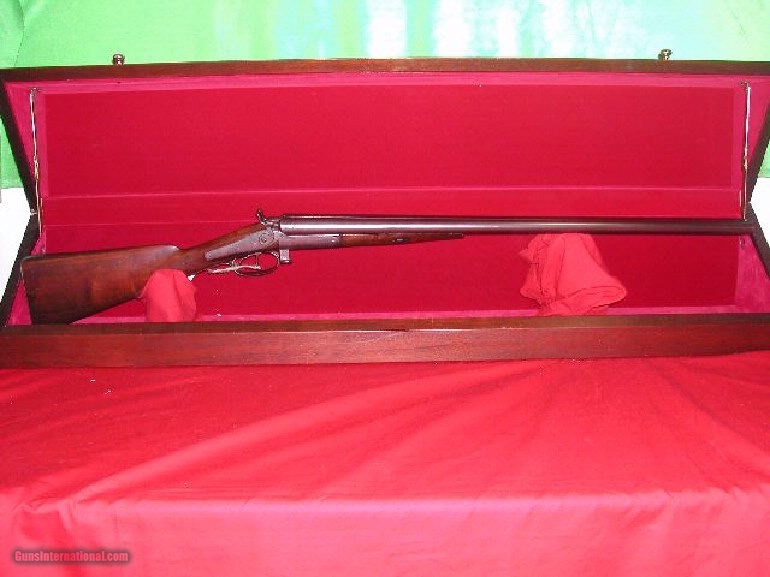 PARKER BROS 12 GA EARLY ROUND ACTION SXS SPORTING GUN ***** SN 0229 ***** - 1 of 1