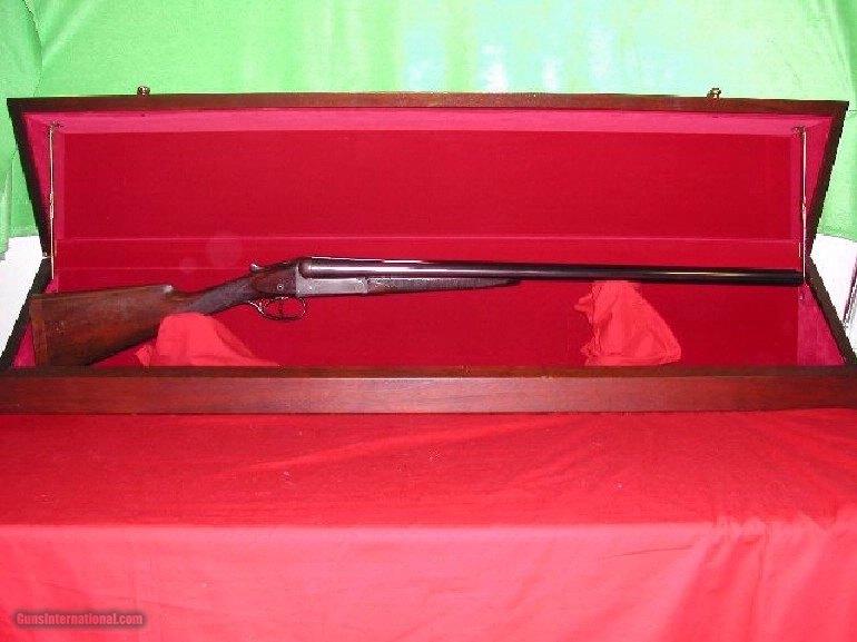 W.W. GREENER 12 BORE GRADE E 17 SXS SPORTING GUN ***** SN 63649 *****