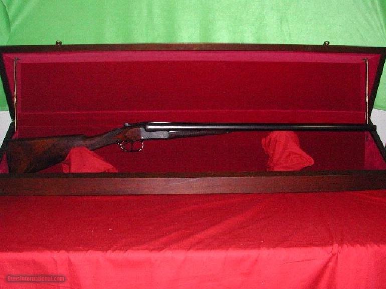 WEBLEY & SCOTT 12 BORE SXS SPORTING GUN ***** SN 95554 ***** - 1 of 1