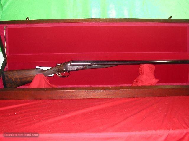 W.W. GREENER 12 BORE SXS SPORTING GUN SN 26415