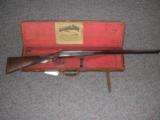 C & A WESTON 12 BORE SXS SPORTING GUN * CASED IN IT'S ORIGINAL TRUNK CASE W/ WESTON LABEL- 1 of 1