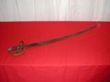 WILLIAM GLAZE MODEL 1840 PALMETTO ARMORY CAVALRY SWORD - 1 of 1