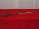 U.S. MODEL 1840 OFFICERS SWORD WITH GETTYSBURG PROVENANCE - 1 of 1